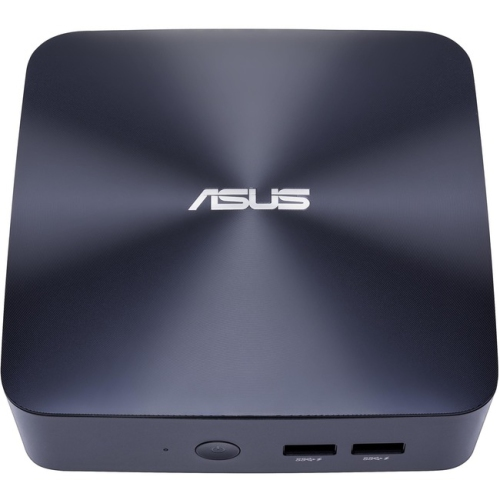 Asus VivoMini UN65U-M179M Desktop Computer - Intel Core i5 (7th Gen) i5-7200U 2.50 GHz - 8GB DDR4 SDRAM - Mini PC - Midnight