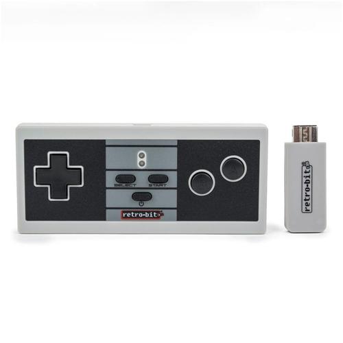 Retro-Bit NES Style Wireless Pro Controller - Classic Color