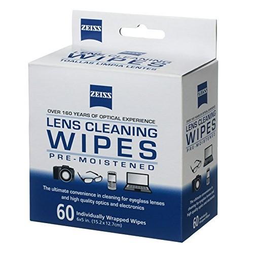 ZEISS ZES2127721, Box Lens Wipes (60-Count)