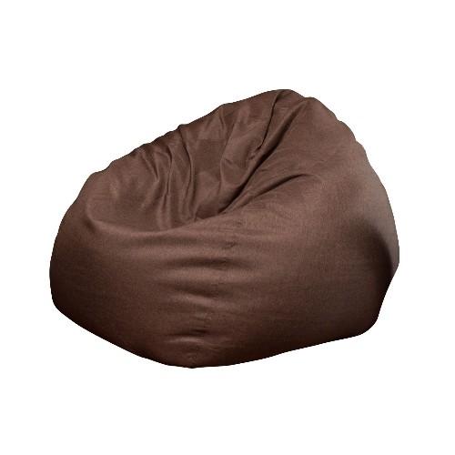 Modern Bean Bag The Big Pear - Bean Bag Chair - Espresso