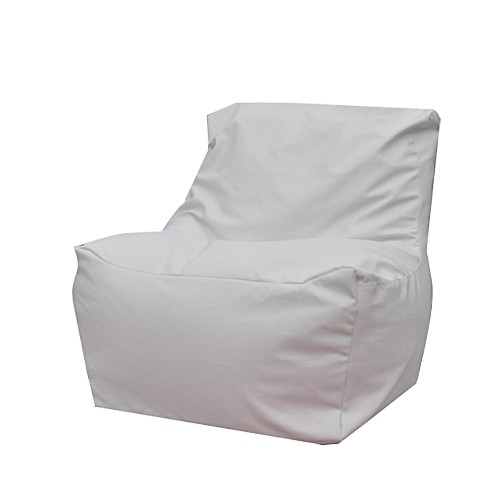 Modern Bean Bag Quicksand Bean Bag Chair - White