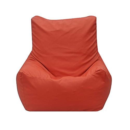Modern Bean Bag Quicksand Chair Bean Bag - Orange