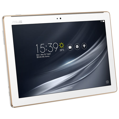 "ASUS ZenPad 10.1"" 16GB Android 7.0 Tablet With MediaTek MTK8163B Quad-Core Processor - White"