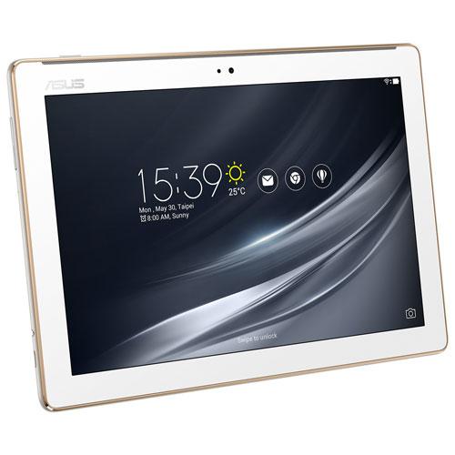 Tablette 10,1 po 16 Go Android 7.0 ZenPad ASUS processeur quadruple cœur MTK8163B MediaTek - Blanc