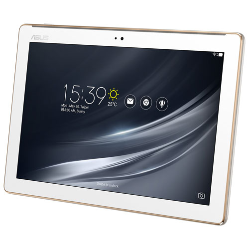 "ASUS ZenPad 10.1"" 16GB Android 7.0 Tablet With MediaTek MT8163A Quad-Core Processor - White"