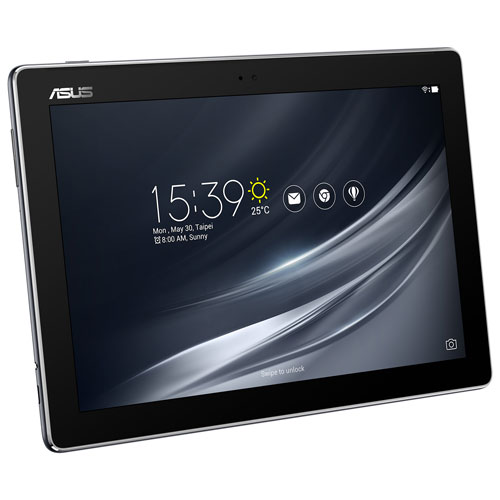 "ASUS ZenPad 10.1"" 16GB Android 7.0 Tablet With MediaTek MTK8163B Quad-Core Processor - Grey"