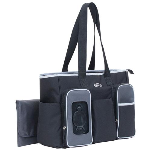 7b4282fa771 Graco Smart Organizer System Tote Diaper Bag - Black