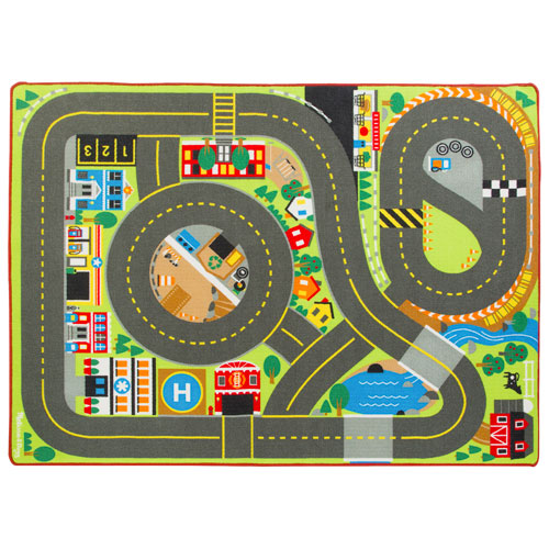 Melissa Amp Doug Jumbo Roadway Activity Rug Playmats
