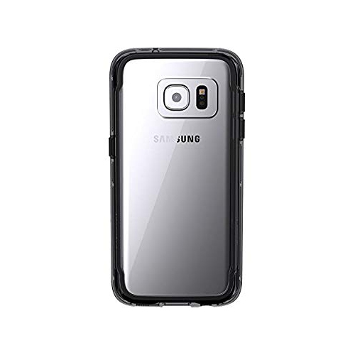 Griffin Fitted Hard Shell Case for Samsung Galaxy S7 - Black; Clear