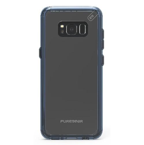 Puregear 61759PG Etui Slim Shell Pro Transparent/Bleu