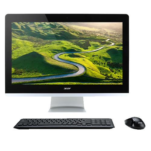 "Acer AZ3-705-ES61 21.5"" All-in-One PC - (Intel Pentium 3805U / 1TB HHD / 4GB RAM / Windows 10 Home) - (DQ.B2FAA.001)"