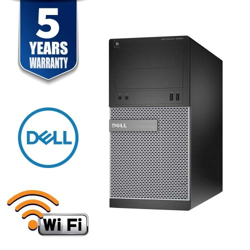 DELL OptiPlex 3020 SFF I5 4570 3.2 GHZ 4GB 250GB DVD/RW WIN10 PRO 5YR WTY USB WIFI- Refurbished