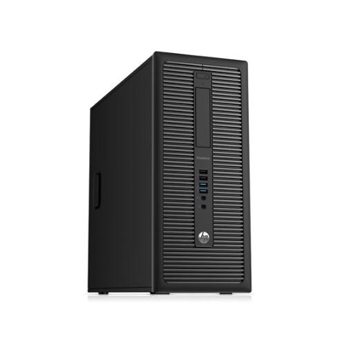 HP ELITEDESK 800 G1 MT I5 4570 3.2 GHZ 4GB 500GB DVD/RW WIN10 PRO 5YR WTY USB WIFI- Refurbished