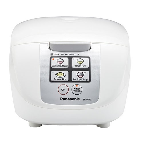 """Panasonic SR-DF101 5-Cups(uncooked)/10-Cups(Cooked) """"Fuzzy Logic"""" Rice Cooker - Refurbished"""