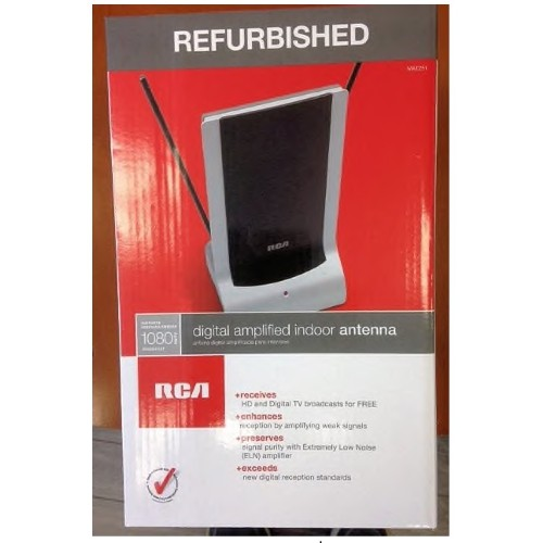 RCA Digital Amplified Indoor Antenna - Refurbished