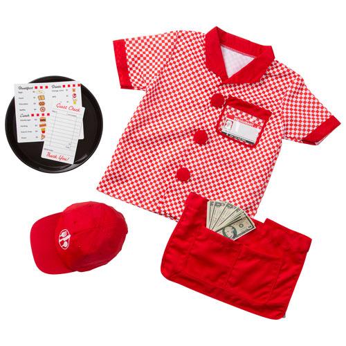 Melissa Doug Server Costume Set 3 To 6 Years Baby Kid S