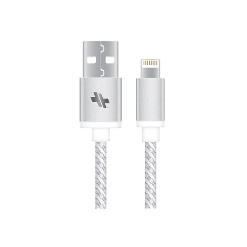 SWISS alloy series sync/charge lightning cable-6ft gunmetal