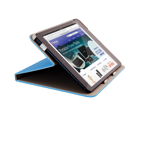 Verbatim Folio Hex Case for iPad Mini , Aqua Blue 98100