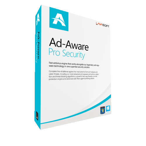 1Yr/2PC AdAware Antivirus Pro (formerly Lavasoft) Keycard