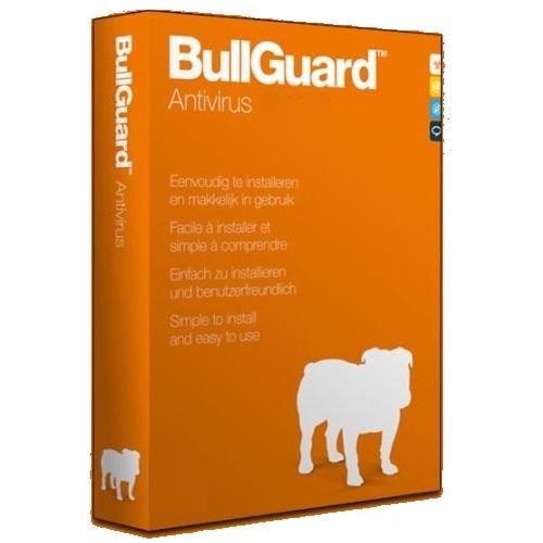 1Yr/3PC BullGuard Antivirus Keycard
