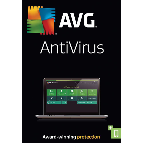 3Yr/1PC AVG AntiVirus Global Keycard