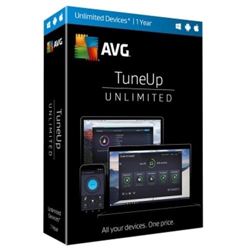1Yr/Unlimited PC AVG TuneUp Global Keycard