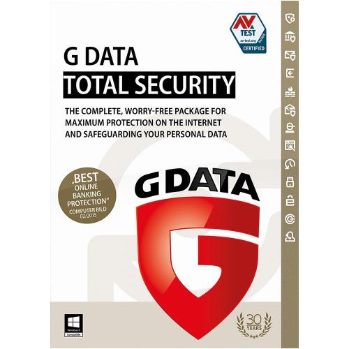 1Yr/1PC G Data Total Security Global Keycard