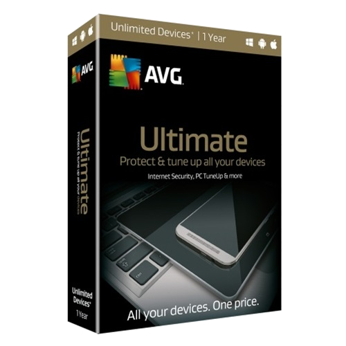 1Yr/Unlimited PC AVG Ultimate Global Keycard