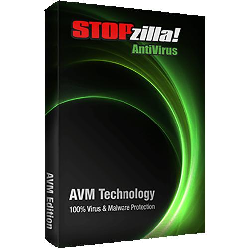 1Yr/3PC iS3 STOPzilla AntiVirus Keycard