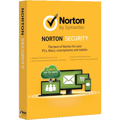 1Yr/3PC North America Norton Security Deluxe Keycard