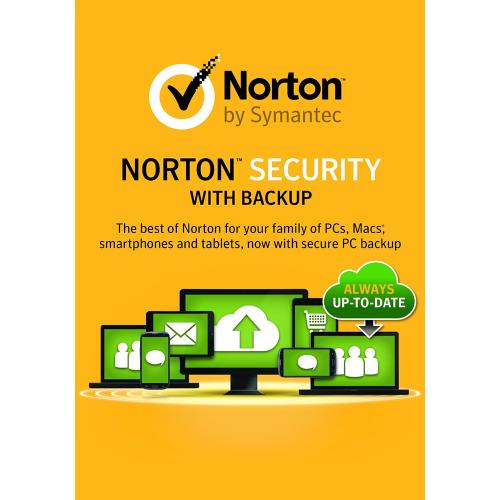 1Yr/10PC North America Norton Security Premium with Backup Keycard