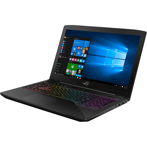 Portable 15,6 po ROG GL503VD ASUS (Core i7-7700HQ Intel/DD 1 To/SSD 256 Go/RAM 16 Go/Win 10)
