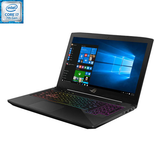 "ASUS ROG GL503VM 15.6"" Laptop - Dragon Scale (Intel Core i7-7700HQ/1TB SSHD+256 SSD/16 GB RAM)"