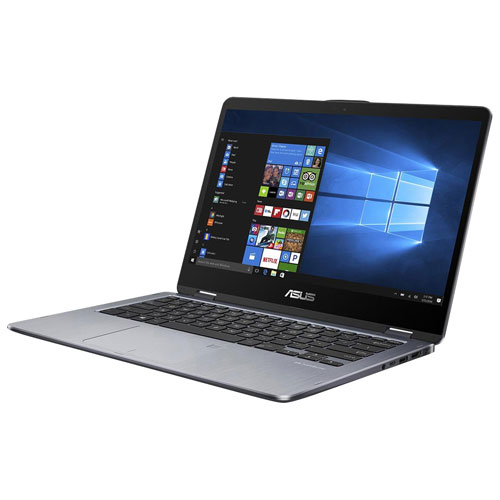 "ASUS TP410UA 14"" Laptop - Star Grey (Intel Core i7-7500U /1TB HDD / 8GB RAM /Windows 10)"