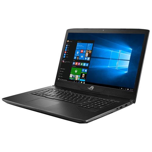 """ASUS ROG GL703VM 17.3"""" Laptop - Gunmetal/Weave (Intel Core i7-7700HQ/256GB SSD + 1TB SSHD/16GB RAM)"""