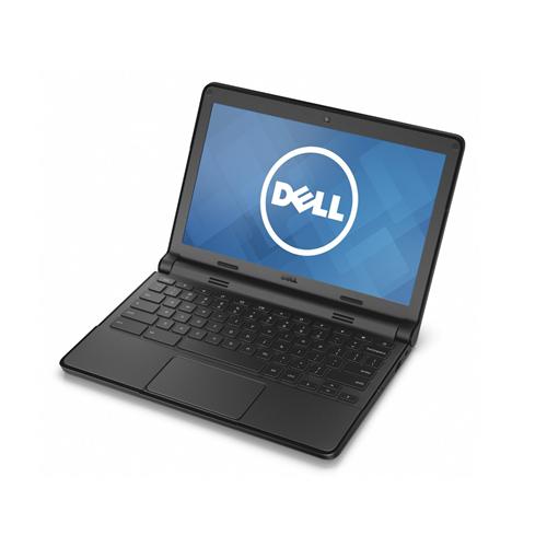 """DELL Chromebook 11 3120 Intel Celeron N2840 2.58GHZ 4GB 16GB eMMC 11.6"""" TOUCH Webcam BT Chrome OS BLACK - Refurbished"""
