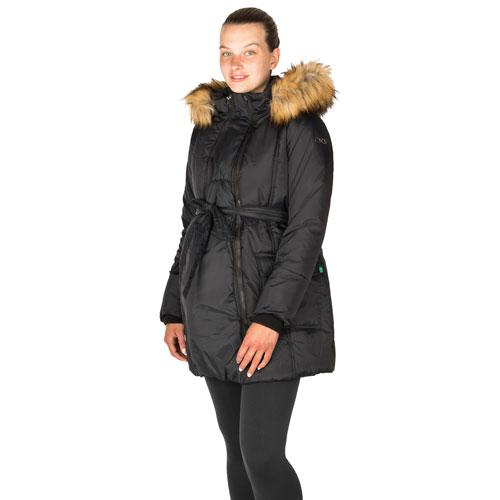 Manteau de maternité bouffant Rachel de Modern Eternity - Très petit - Noir