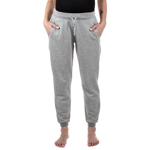 Pantalon de jogging de maternité Mia de Modern Eternity - Petit - Gris chiné