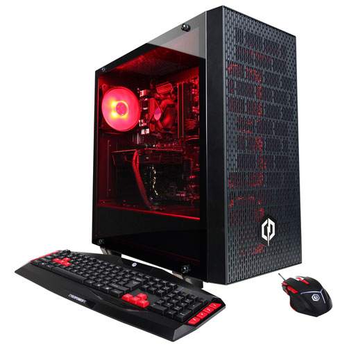 CyberPowerPC Gamer Xtreme PC (Intel Core i7-8700/1TB HDD/8GB RAM/NVIDIA GeForce GTX1060/Win 10)-Eng