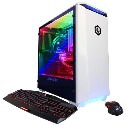 CyberPowerPC Gamer Xtreme Liquid Cool Gaming PC (i7-8700K/ 1TB HDD/ 16GB RAM/ RX 580/ Win10) - Eng