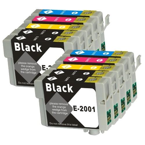 Epson 200XL nouvelles cartouches d'encre compatibles - Combo Pack de 10 (BK, C, M, Y)