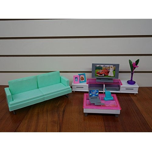 Wondrous Barbie Size Dollhouse Furniture Family Room Pdpeps Interior Chair Design Pdpepsorg
