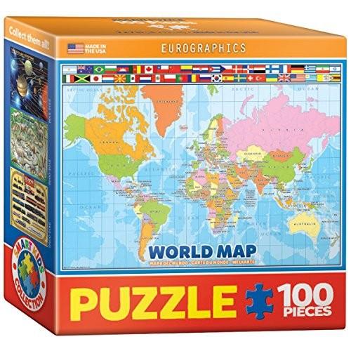 Eurographics world map for kids mini jigsaw puzzle 100 piece eurographics world map for kids mini jigsaw puzzle 100 piece online only gumiabroncs Gallery