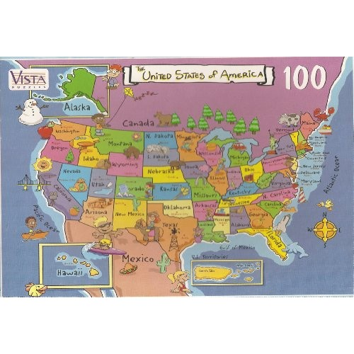 USA Map Puzzle Pieces Puzzles Best Buy Canada - Canada map puzzles