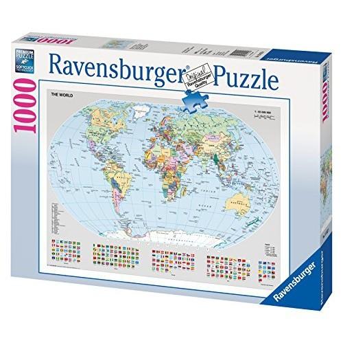 Ravensburger 15652 political world map 1000 piece puzzle puzzle ravensburger 15652 political world map 1000 piece puzzle puzzle gumiabroncs Images