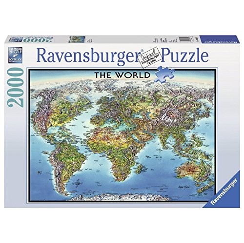 Ravensburger world map jigsaw puzzle 2000 piece puzzles best ravensburger world map jigsaw puzzle 2000 piece online only gumiabroncs Gallery