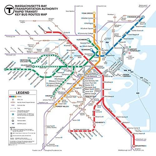 New York Subway Map Puzzle.New York Puzzle Company Boston Transit Boston T 500 Piece Jigsaw Puzzle