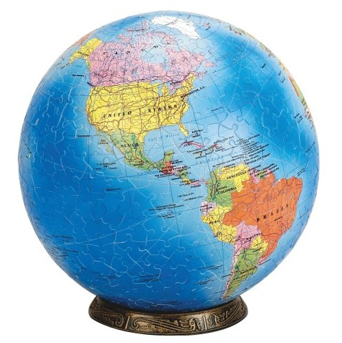 Esphera 360 9 540 pieces world globe political map by mega brands esphera 360 9 540 pieces world globe political map by mega brands puzzles best buy canada gumiabroncs Gallery