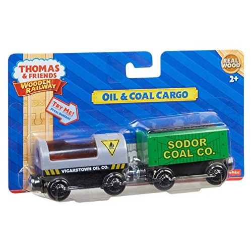 91ba861e5f9778 Fisher-Price Thomas the Train Wooden Railway Oil and Coal Cargo   Best Buy  Canada