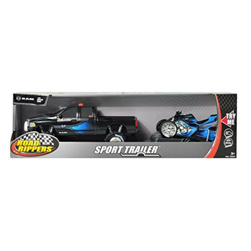 State Road TrailerDodge With Atv And Sport Ram Toy Light Sound Rippers D2IYWH9eE